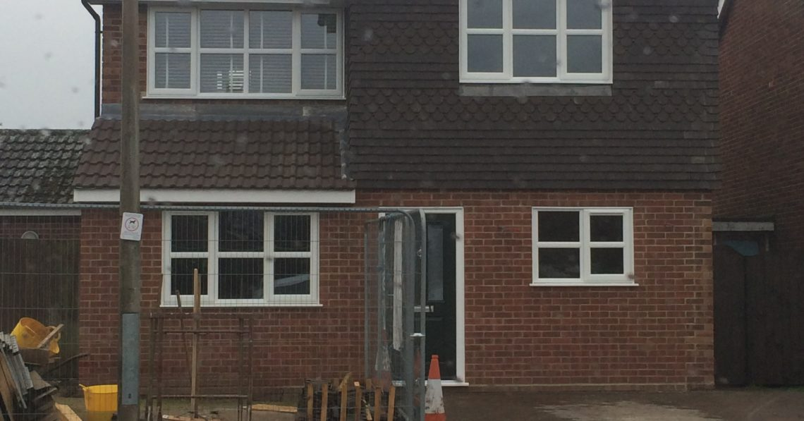 Double and Single Storey Extensions, Poets Corner, Colchester